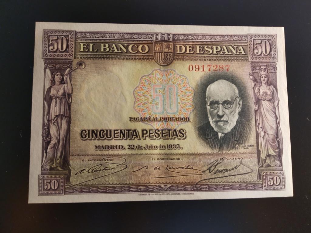 "50 Pesetas 1935 ""Ramón y Cajal"" S/S & A Img_2083"
