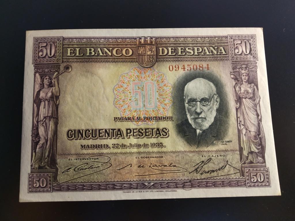 "50 Pesetas 1935 ""Ramón y Cajal"" S/S & A Img_2089"