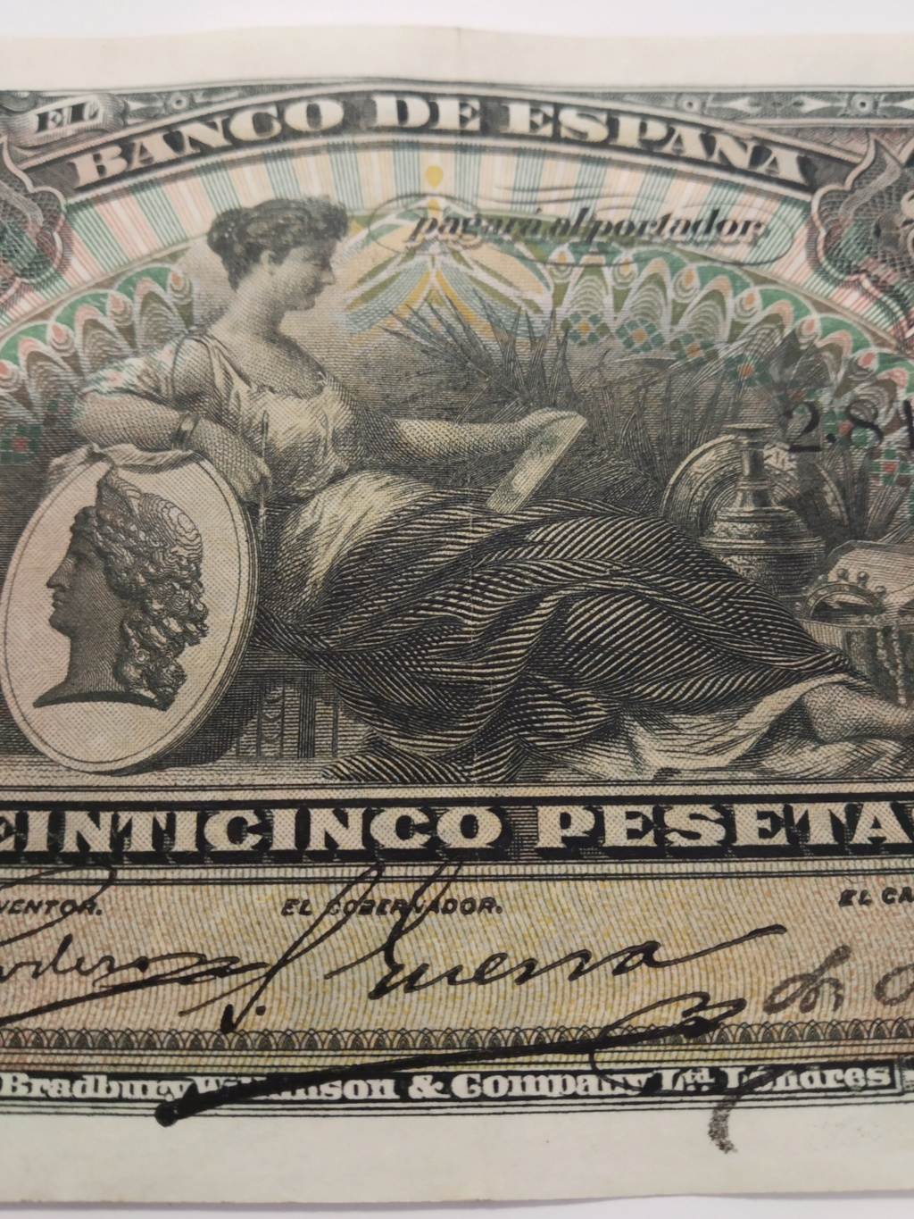 25 pesetas 1907, TOP NUMBER 1!!! Img_2098