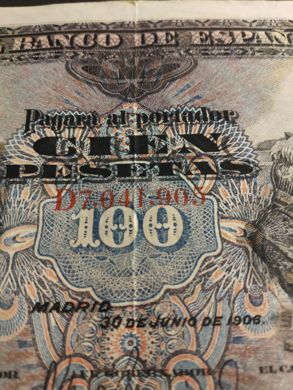 100 pesetas 1906 - SERIE D - Img_2116