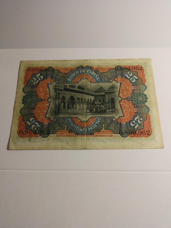 5° y último billete del lote, 25 pesetas 1907 Img_2165