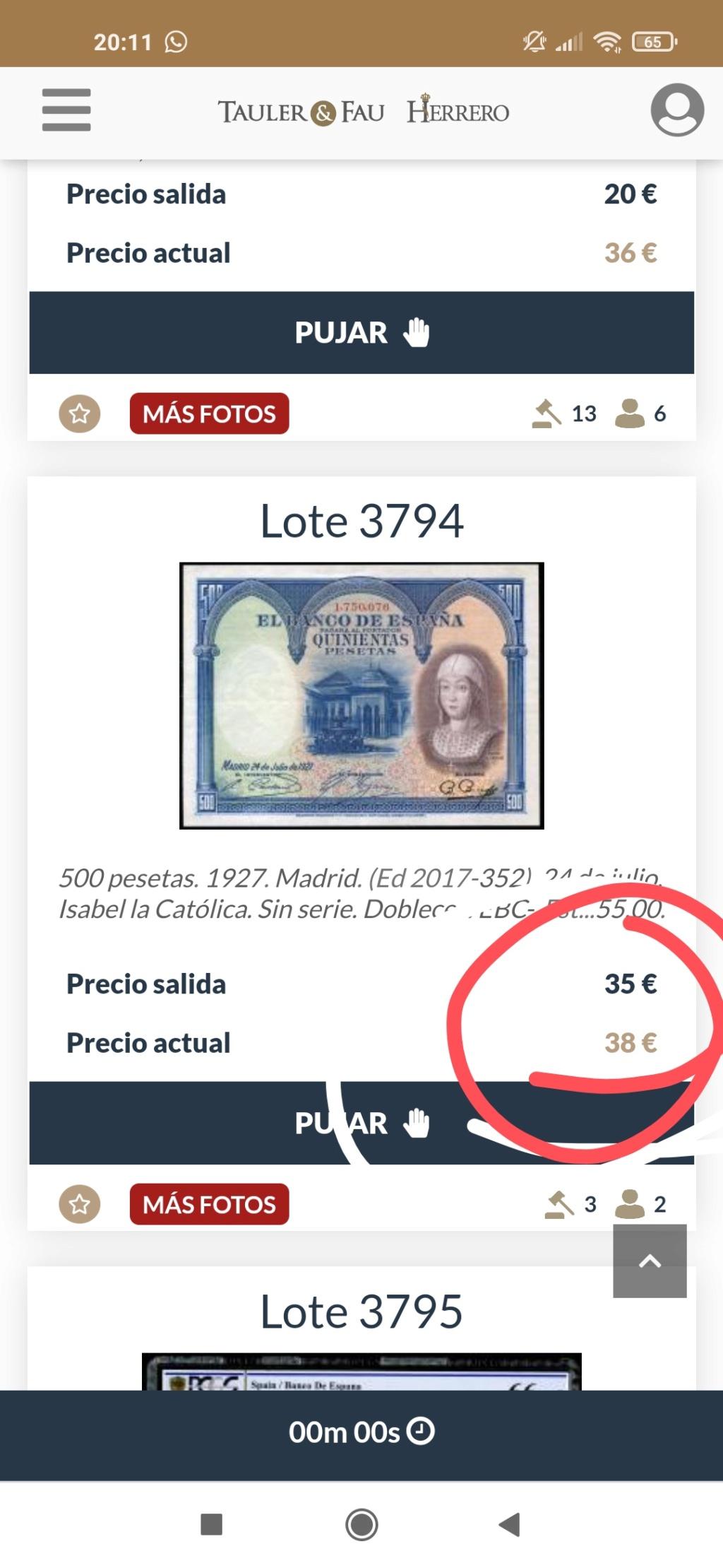 500 Pesetas 1927 Isabel la Católica Img_2174