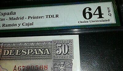 """50 Pesetas 1935 """"Ramón y Cajal"""" S/S & A - Página 2 S-l40010"""