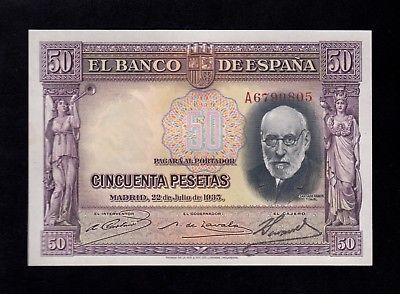 """50 Pesetas 1935 """"Ramón y Cajal"""" S/S & A - Página 2 S-l40011"""
