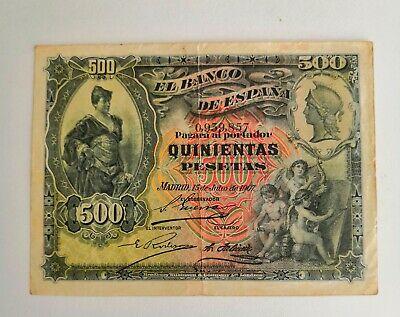 [RARO/ESCASO II] - Billete más raro/escaso Julio 1907 valores GRANDES S-l40016