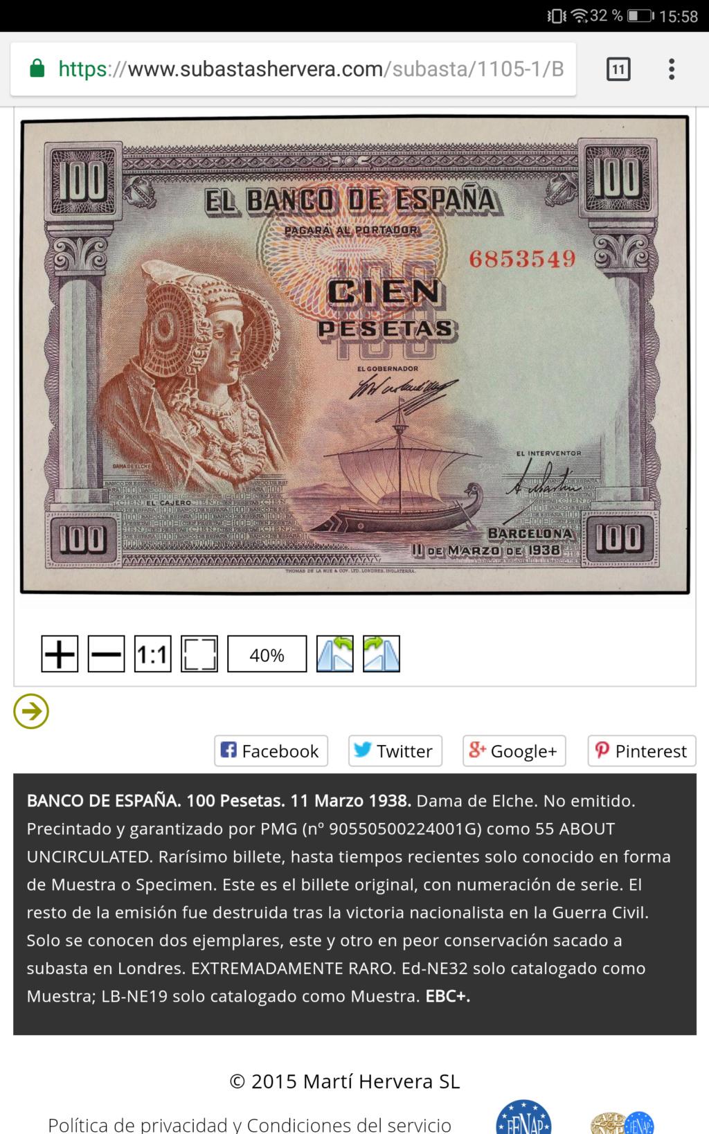 100 pesetas 1938 - Dama de Elche Screen13