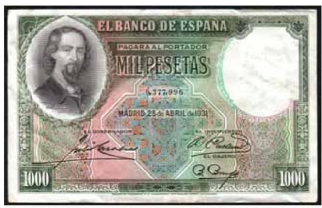 GRANDES MISTERIOS (I) - Tacos existentes 1000 pesetas 1931 Zorrilla Screen22