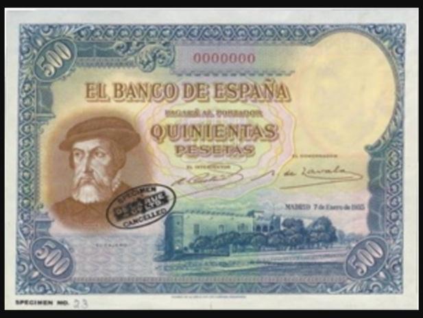 GRANDES MISTERIOS (III) - 500 pesetas 1935 Hernán Cortés Screen23