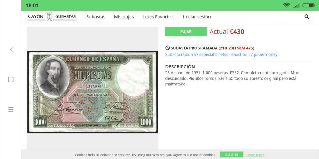 GRANDES MISTERIOS (I) - Tacos existentes 1000 pesetas 1931 Zorrilla Screen24