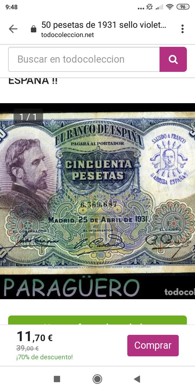 Sellos falsos - SELLOS FALSOS en billetes, reinventarse o morir Screen39