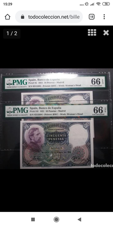 ¿Rareza pasada por alto? 50 pesetas 1931 - Rosales SC Screen41