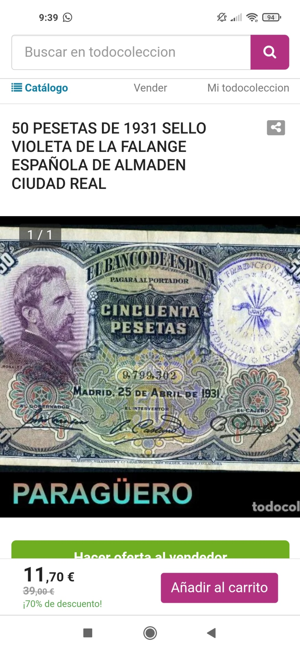 Sellos falsos - SELLOS FALSOS en billetes, reinventarse o morir Screen43