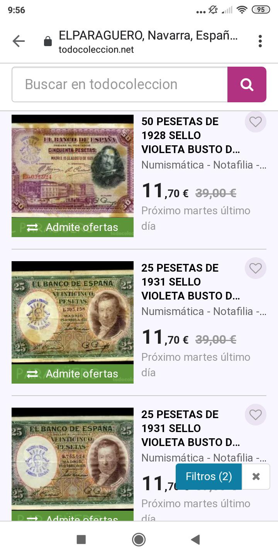 Sellos falsos - SELLOS FALSOS en billetes, reinventarse o morir Screen49