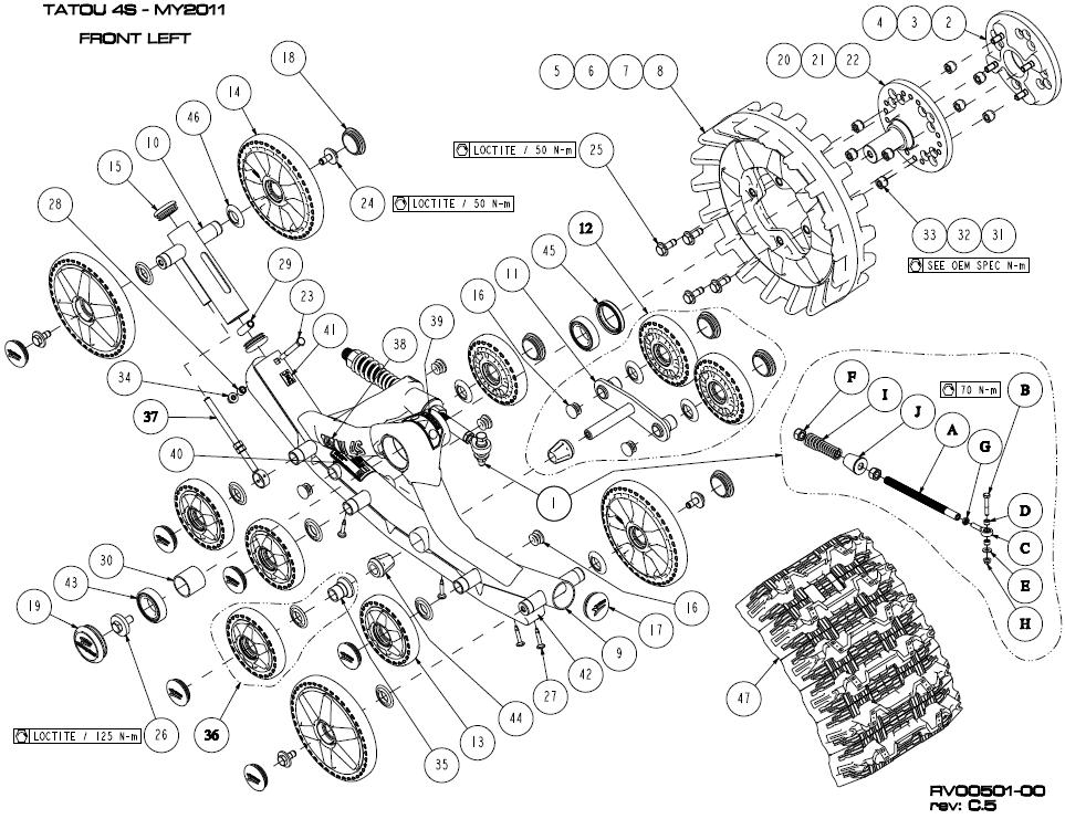 Recherche puller pour roue de track tatou T4S 2011-c10