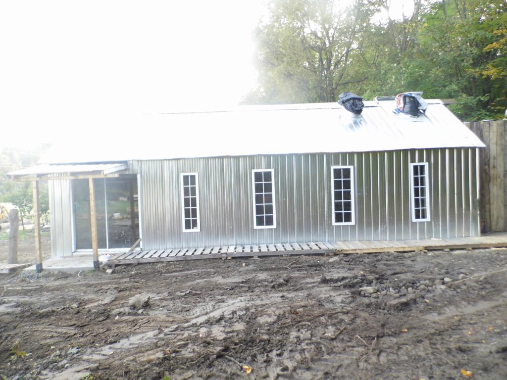 Structure de cabane à sucre  Dsci0210