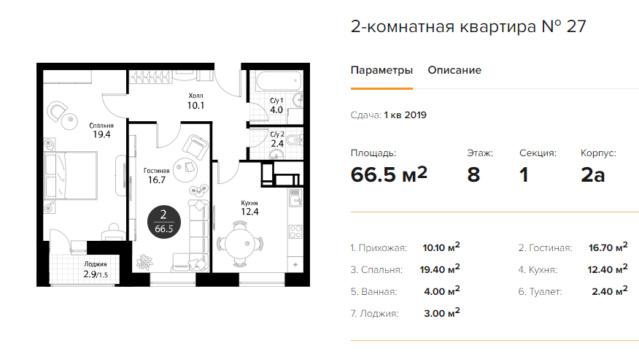 """Планировки квартир в ЖК """"Летний сад"""" - как в целом с этим у Эталона? - Страница 3 10210"""
