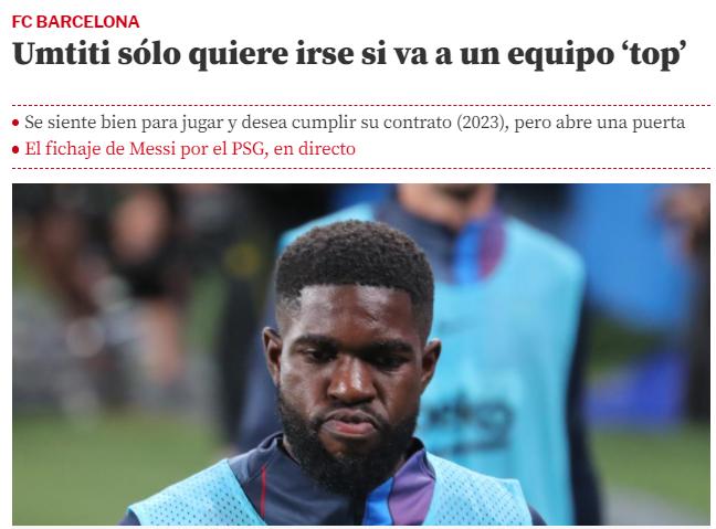 La Liga vs FCB and Messi. Captu390