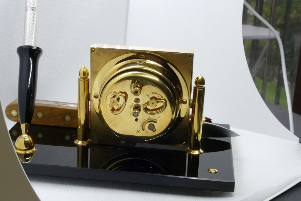 pendulette de bureau vintage - merci M. HONTOIR Ho210