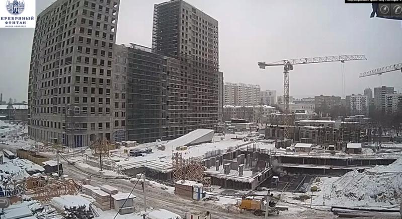 Веб-камеры на площадке строительства ЖК «Серебряный фонтан»  - Страница 7 1110