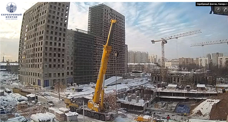 Веб-камеры на площадке строительства ЖК «Серебряный фонтан»  - Страница 7 210