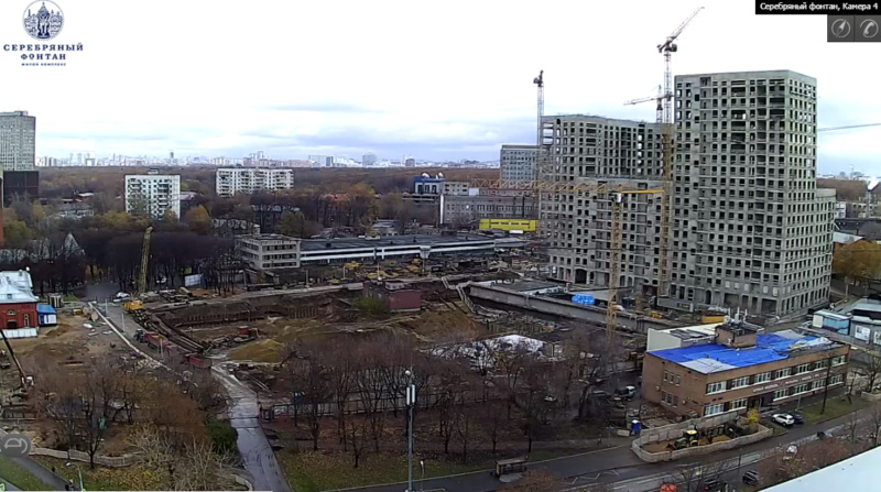 Веб-камеры на площадке строительства ЖК «Серебряный фонтан»  - Страница 6 25ei10