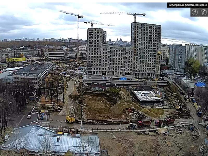 Веб-камеры на площадке строительства ЖК «Серебряный фонтан»  - Страница 6 25ei210