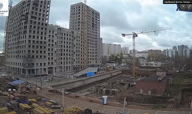 Веб-камеры на площадке строительства ЖК «Серебряный фонтан»  - Страница 6 25ei310