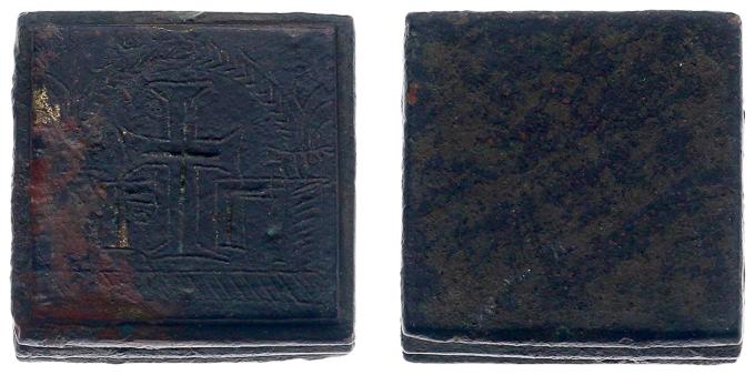 Ponderal bizantino de 3 onzas, siglos IV-VI Ponder10