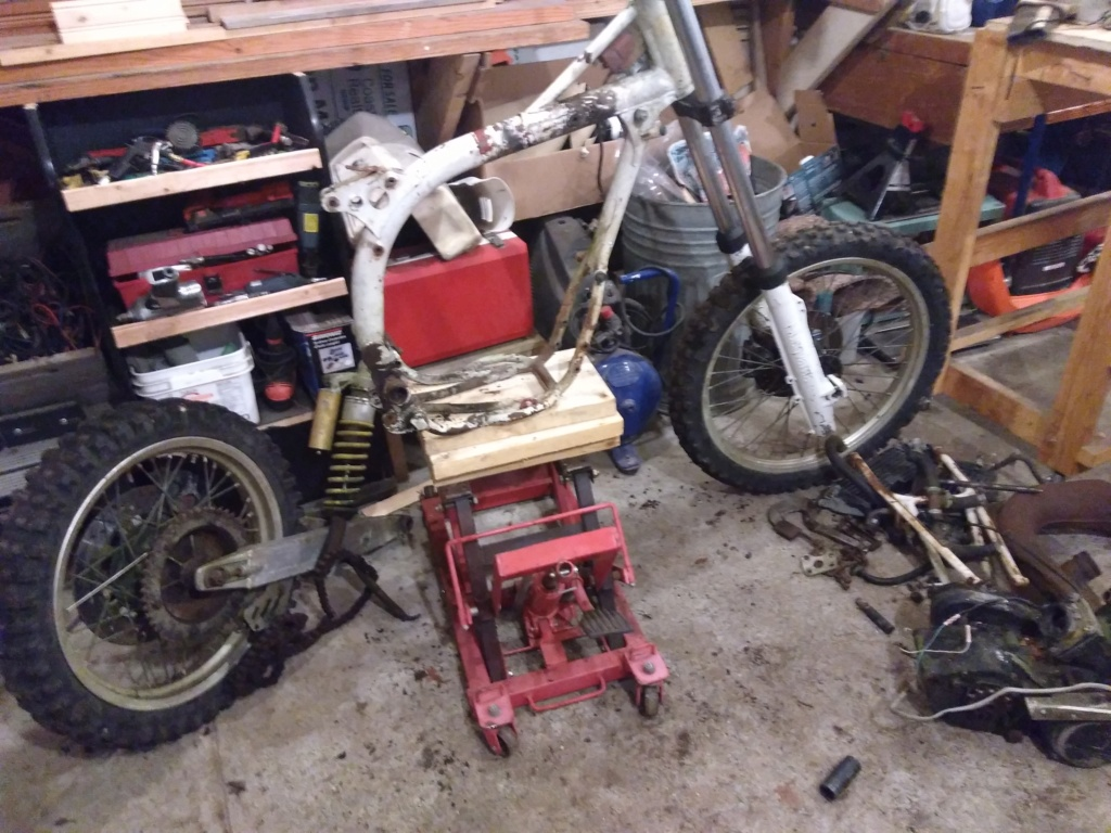 Muck's ol' bike collection. Img_2047