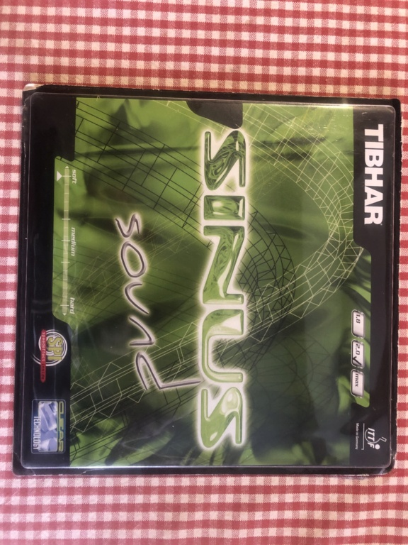 Tibhar Sinus Sound noir 2.0mm Sur blister 66830910