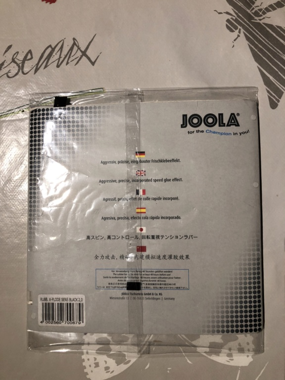 JOOLA X-Plode Sensitive 2mm  noir sur blister  Af927c10
