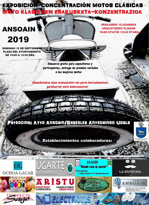 Concentración clásicas en Ansoain (Navarra) Cartel12