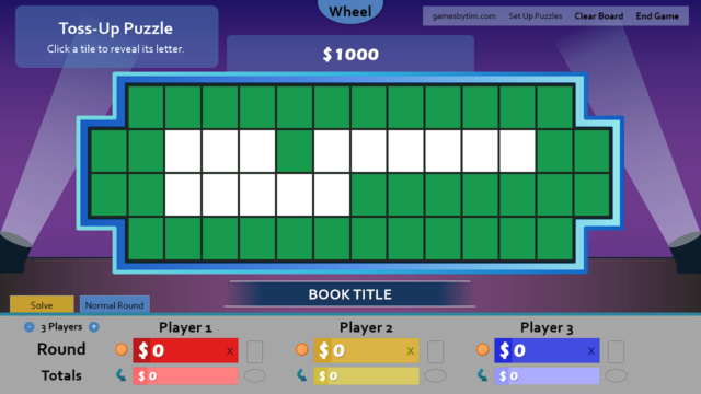 Wheel of Fortune for PowerPoint - Games by Tim - Page 4 Tossup10