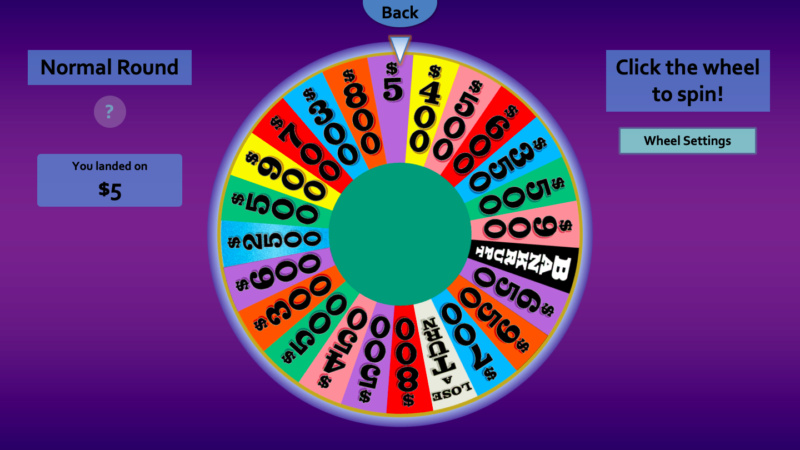Wheel of Fortune for PowerPoint - Games by Tim - Page 4 Wheel510