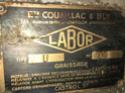 labor - Vieux motoculteur Labor type U 15116210