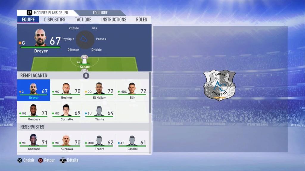 Composition Amiens SC saison 2018-2019 Donob310