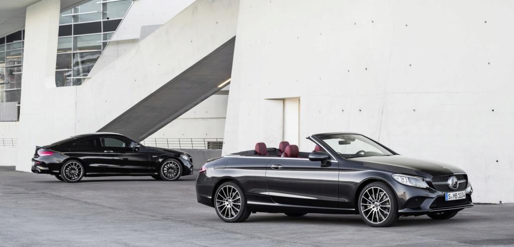 Mercedes lança Classe C cupê e conversível renovados no Brasil 17c90310