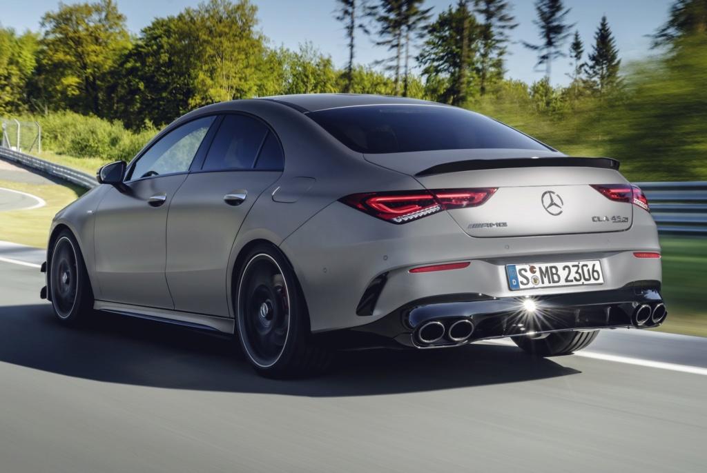 Mercedes-Benz mostra novos Classe A e CLA AMG com motor 2.0 de até 421 cv 19c04410