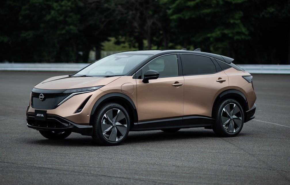 Nissan renova logotipo e lança novo SUV elétrico 20071510