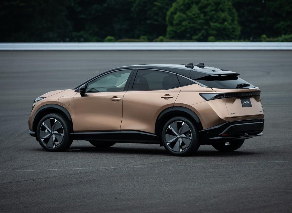 Nissan renova logotipo e lança novo SUV elétrico 20071513
