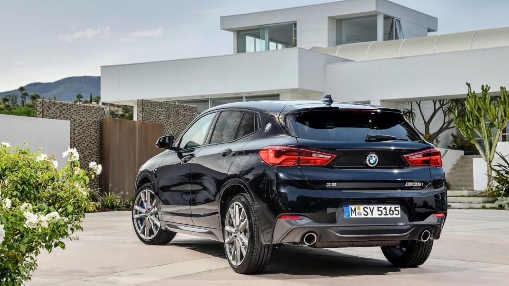 Flagra: BMW X2 M35i de 302 cv já roda no Brasil 2019-b13