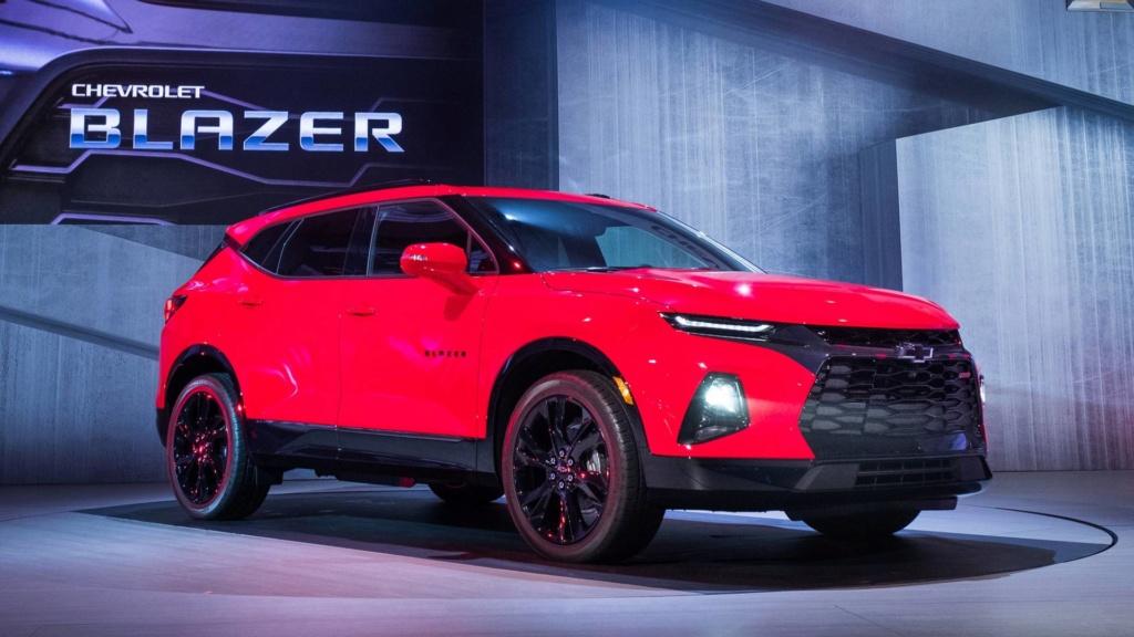 """""""SUV do Camaro"""", novo Chevrolet Blazer é registrado no Brasil 2019-c10"""