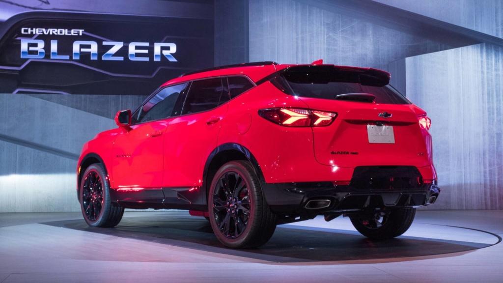"""""""SUV do Camaro"""", novo Chevrolet Blazer é registrado no Brasil 2019-c11"""