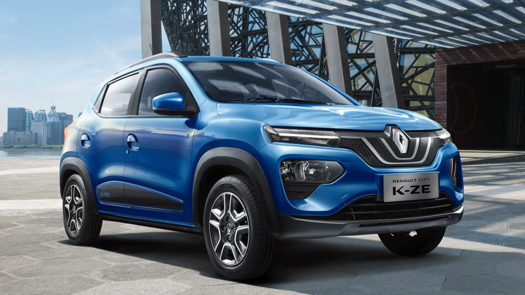 Renault Kwid reestilizado terá elementos da minivan Triber na cabine 2019-r10