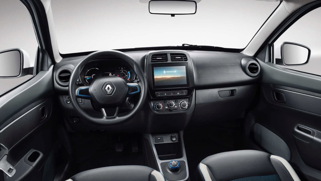 Renault Kwid reestilizado terá elementos da minivan Triber na cabine 2019-r11