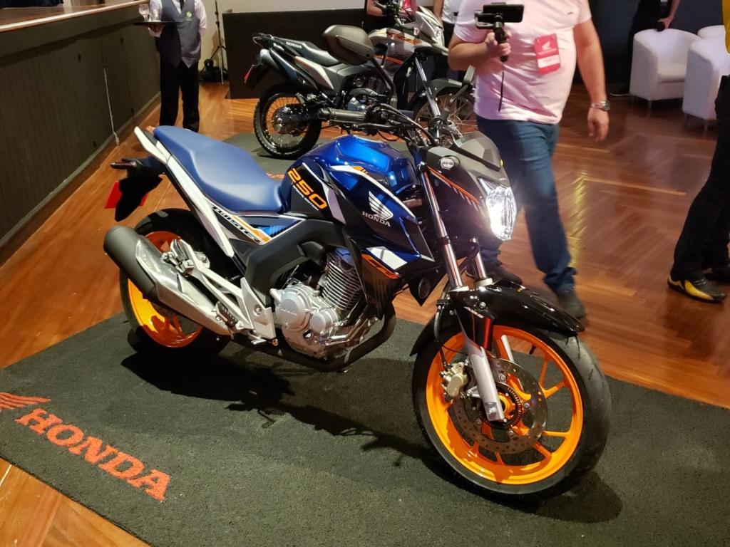 Honda CG 160 Titan S e Bros 160 SE são reveladas antes do Salão Duas Rodas 2019 20191118