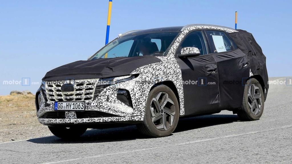 """Flagra: Novo Hyundai Tucson começa a mostrar o design que te fará """"pirar"""" 2021-h10"""
