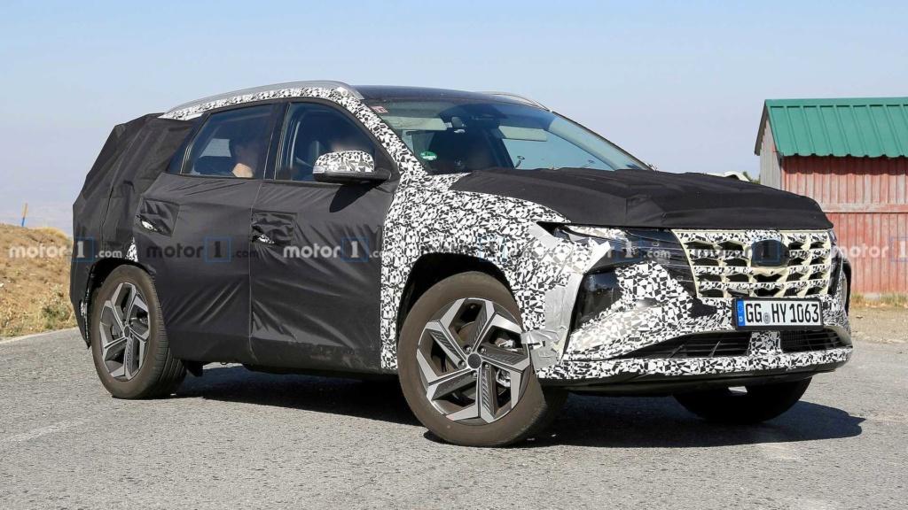 """Flagra: Novo Hyundai Tucson começa a mostrar o design que te fará """"pirar"""" 2021-h12"""