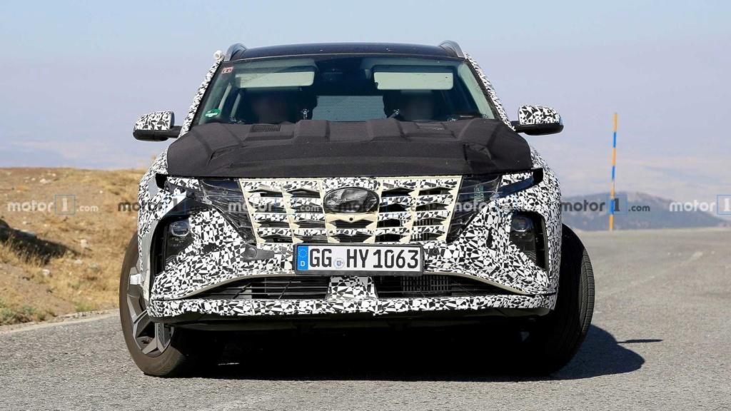 """Flagra: Novo Hyundai Tucson começa a mostrar o design que te fará """"pirar"""" 2021-h13"""