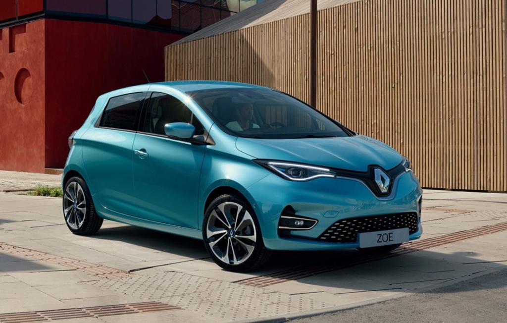 Renault mostra novo Zoe na Europa, mas Brasil segue com versão atual 21227910